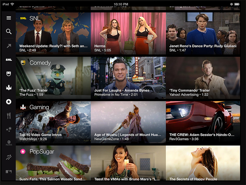 yahoo video guide - watching movies on your ipad