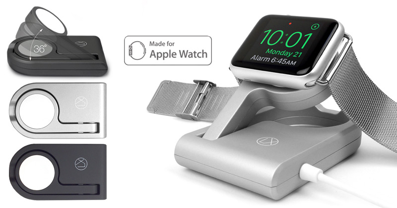foldable apple watch charger lxory