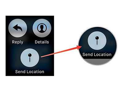 Apple Watch Tip: Share Your Location