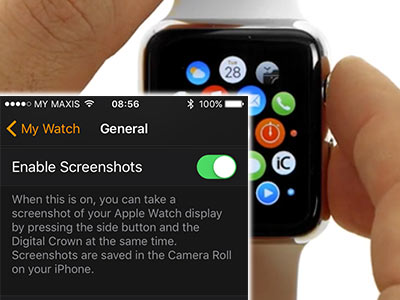 Apple Watch Trick: Take a Screenshot
