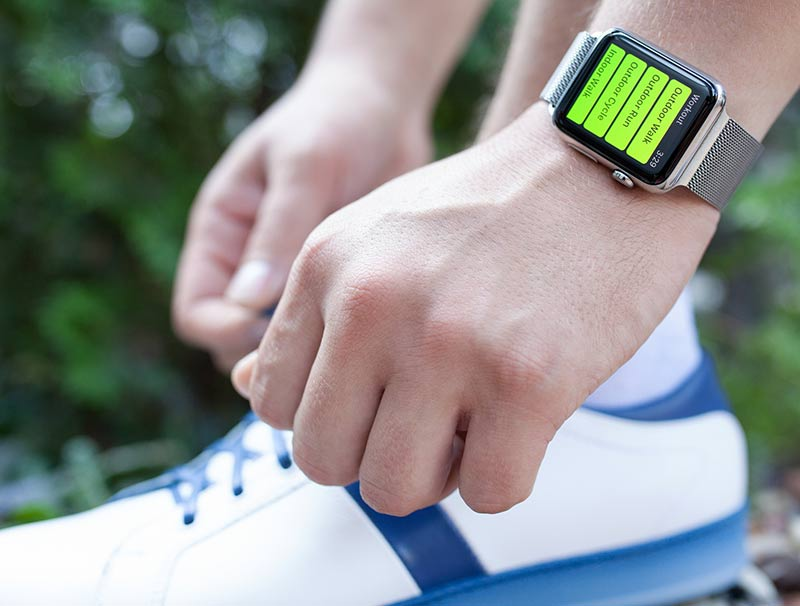 Own An Apple Watch to improve fitness