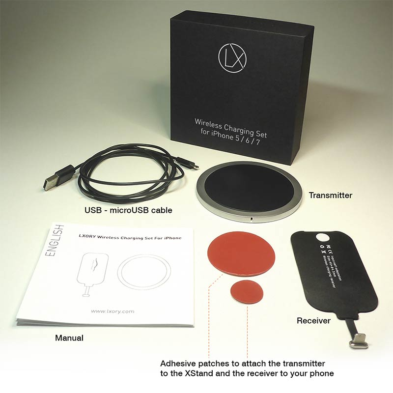 wireless charging set package