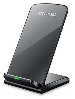 qi charging stand