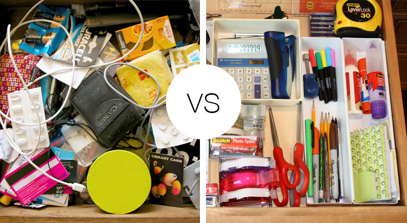 De-Clutter Your drawer