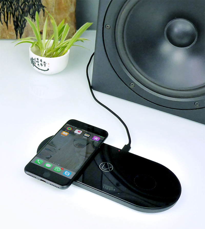 dual wireless charging pad design