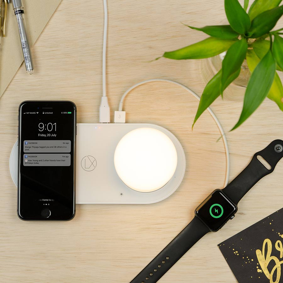 best desk lamp with wireless charging